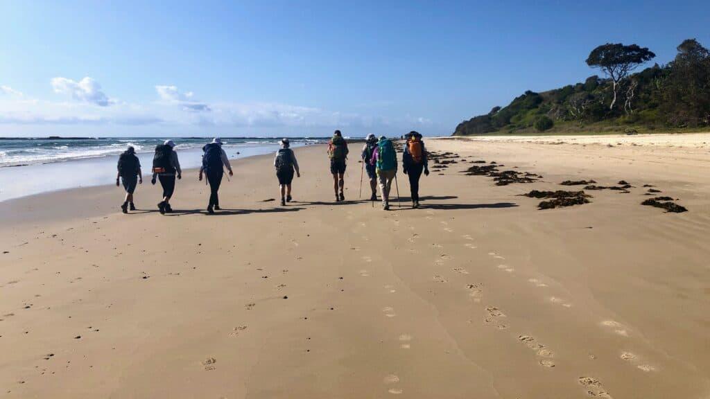 Yuraygir Coastal Walk Hard Beach Sand