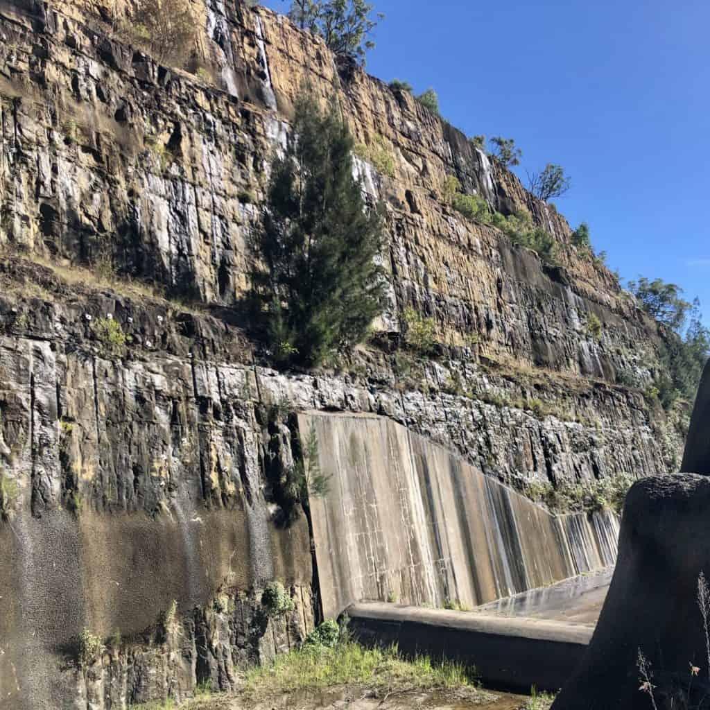 Shannon Creek Dam Spillway
